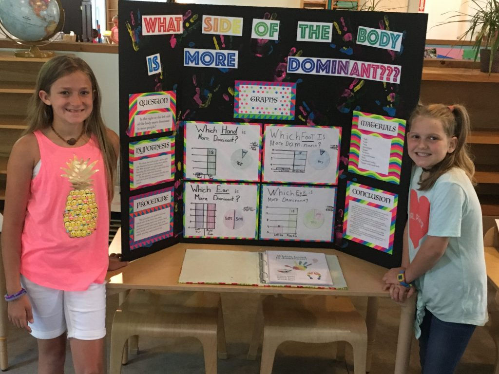 First Elementary Science Fair was a wonderful success!